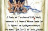 """Isla Cristina acoge el III Torneo Club """"La Higuerita"""" de gimnasia rítmica"""