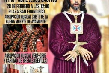 Isla Cristina acoge el Concierto Extraordinario 75 Aniversario Ntro. Padre Jesús Cautivo