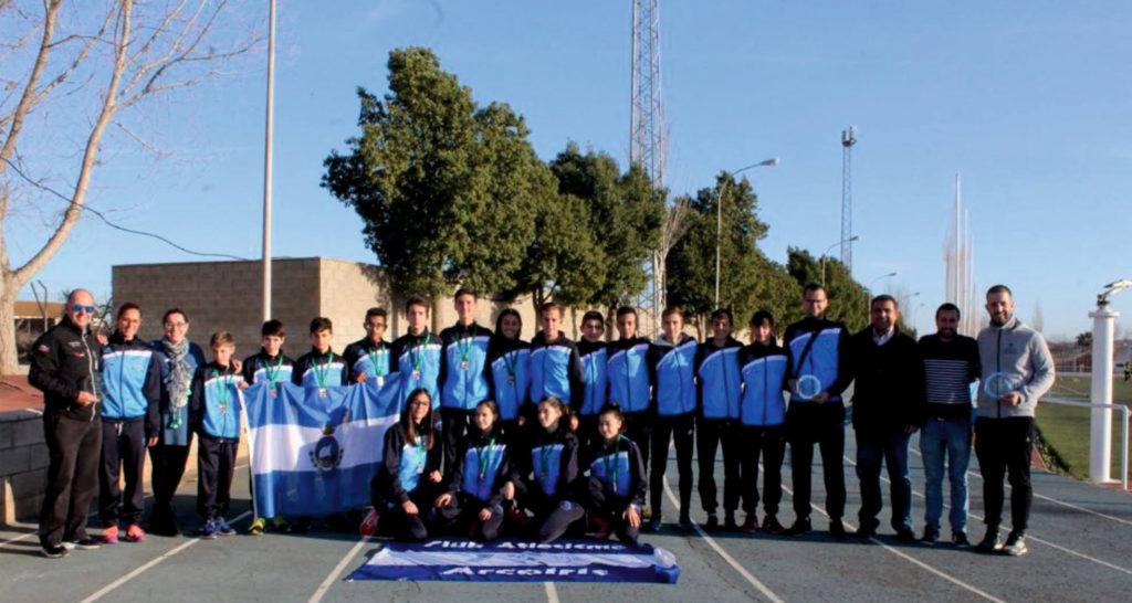 Los Onubenses buscan el podio del Nacional de Cross por Clubes