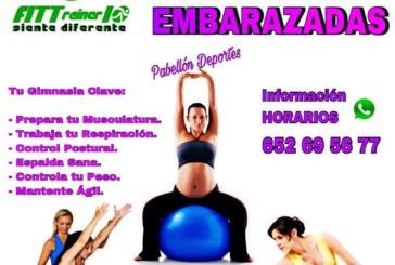 Nueva actividad deportiva de FITTrainer10 para las embarazadas