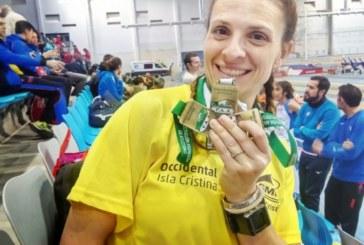 Los veteranos consiguen una lluvia de medallas para el atletismo isleño