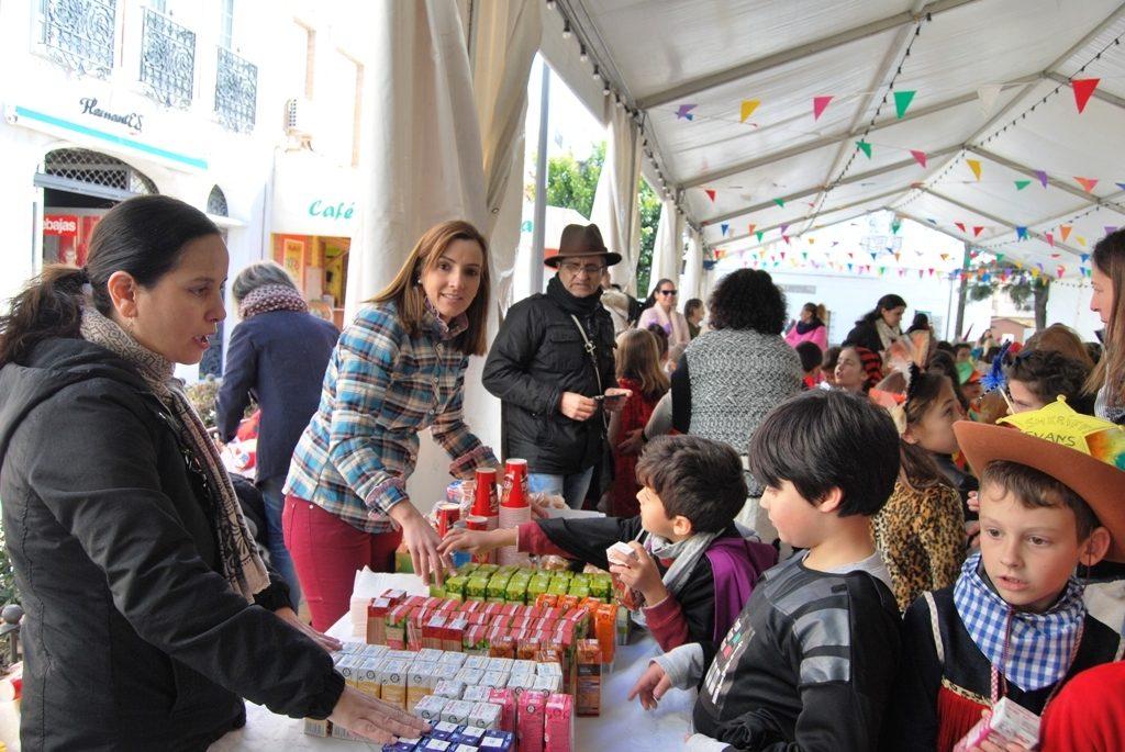 El ayuntamiento de Isla Cristina acerca el Carnaval a los mas pequeños