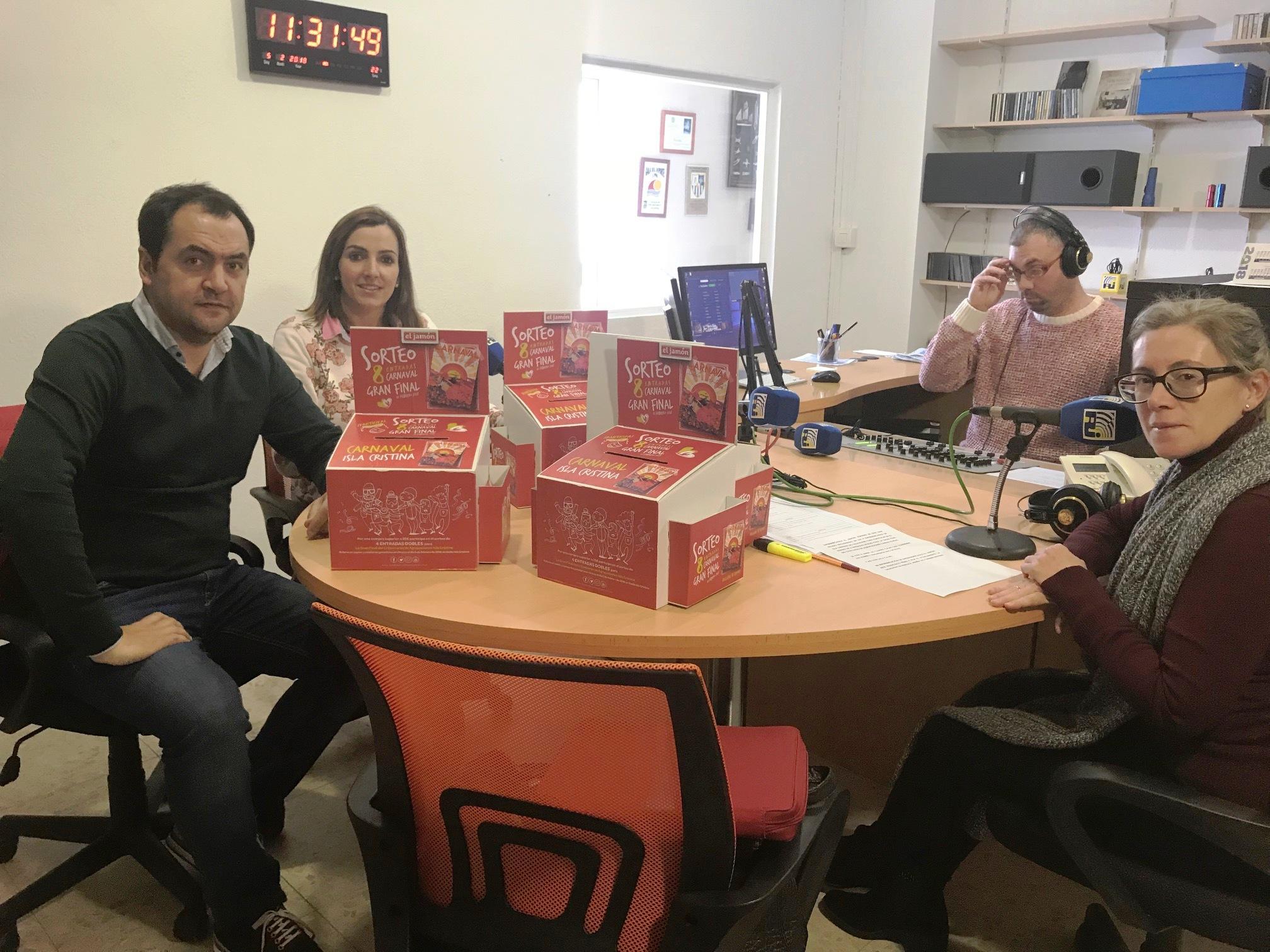Supermercados El Jamón y ayuntamiento sortean entradas para la final del Concurso de Agrupaciones de Isla Cristina