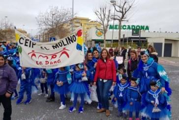 Los escolares de Isla Cristina toman las calles con sus disfraces