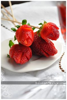 En San Valentín, Díselo con Fresas
