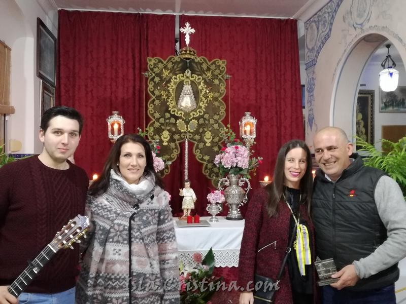 Volvieron con gran esplendor las Salves a la Hermandad del Rocío de Isla Cristina