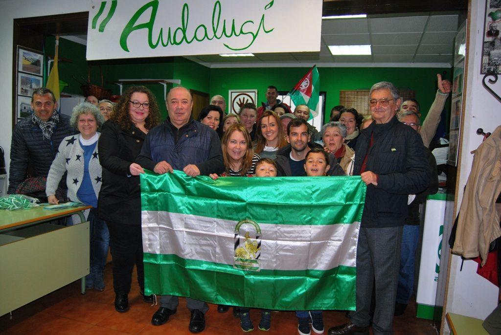 Los Andalucistas isleños, los únicos que celebraron el 28F