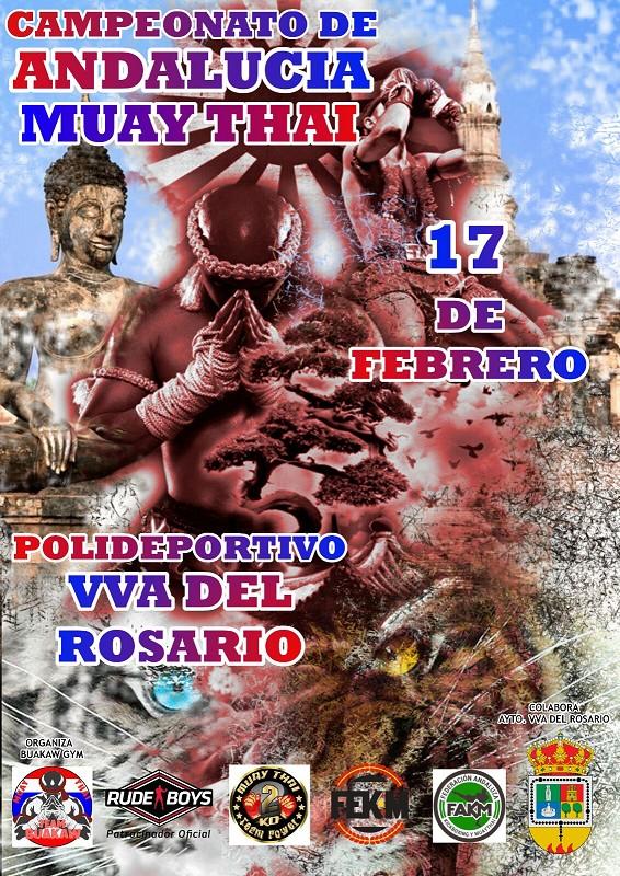 Daniel Rodríguez y Miguel Pérez, al asalto del Campeonato de Andalucía de Muay Thai