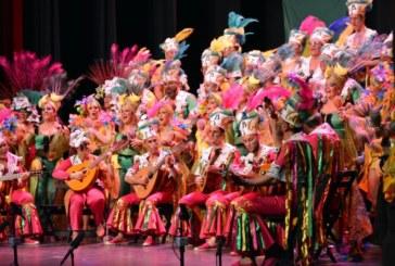 """El Coro isleño """"La Canarihna"""" Primer Premio  en la Gran final del Carnaval Colombino"""