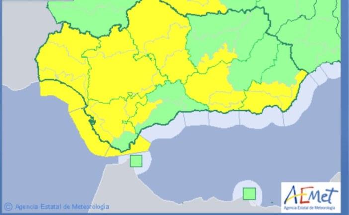 Meteorología mantiene activo el aviso amarillo por fenómenos costeros