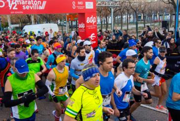 Daniel Andivia es 26° en el Maratón Nacional en Sevilla