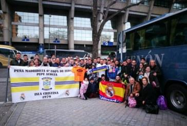 Excursión de la Peña Madridista 6º Copa de Europa «Pepe Acosta» a Madrid