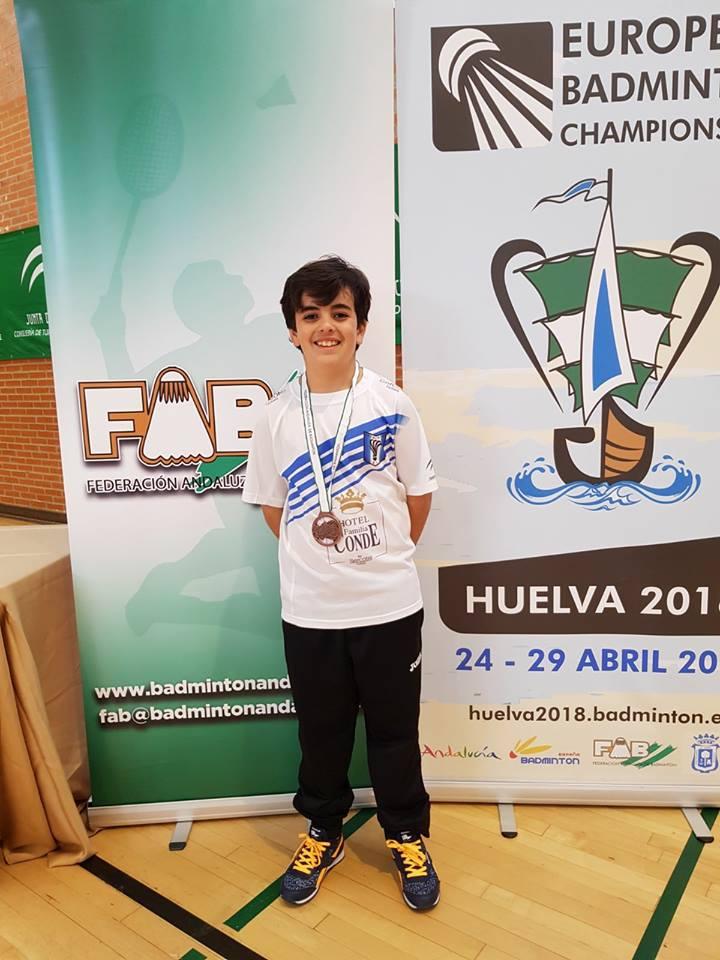 Pepe Fernández entrenado por el isleño José Antonio Figuereo, Bronce en el Campeonato de Andalucía