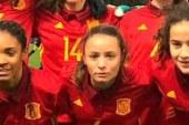 La internacional isleña Irati, da alas a la selección española ante Inglaterra