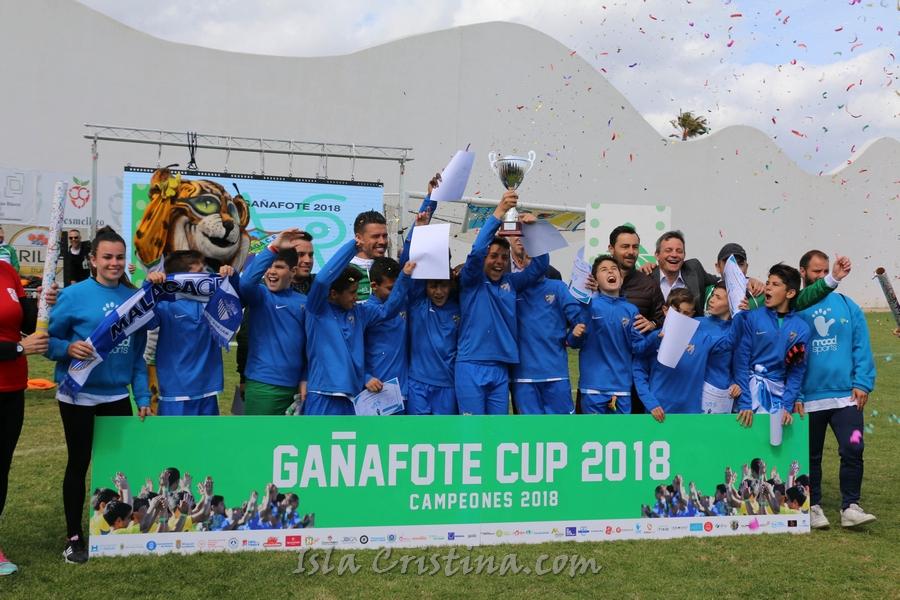 El Málaga CF, Campeón alevín de la segunda edición de la Gañafote Cup 2018
