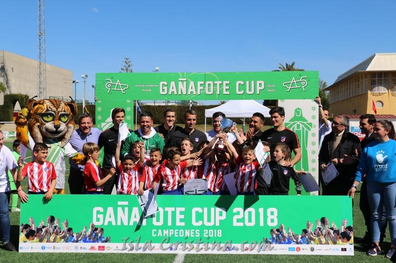 El Atlético de Madrid, vencedor de Prebenjamín en la Gañafote Cup 2018
