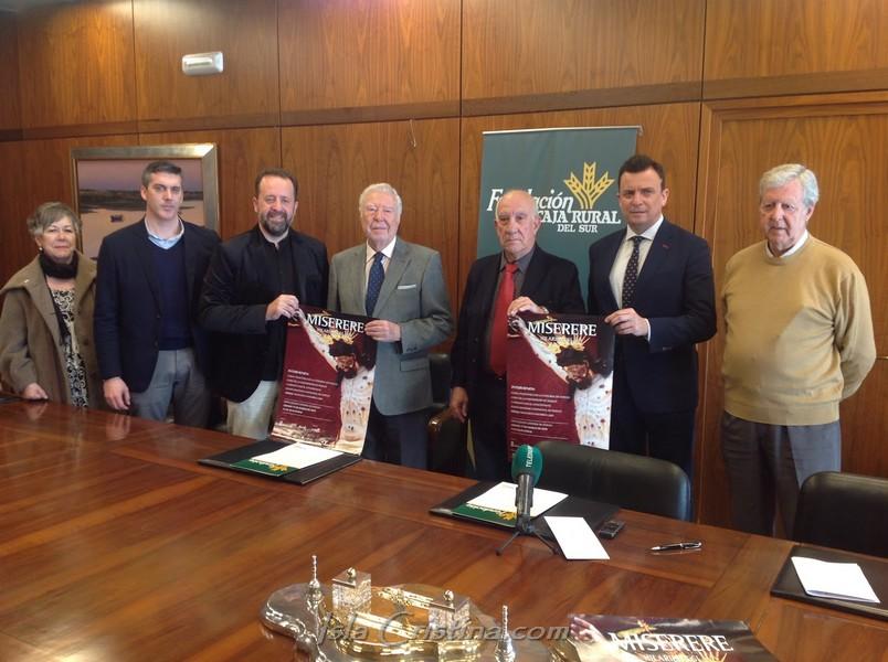 Fundación Caja Rural del Sur patrocina el primer Miserere de Eslava que se canta en Huelva