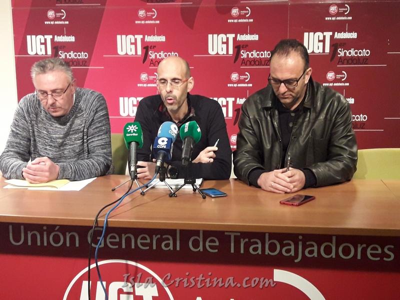 Los trabajadores de la lonja de Isla Cristina inician una huelga