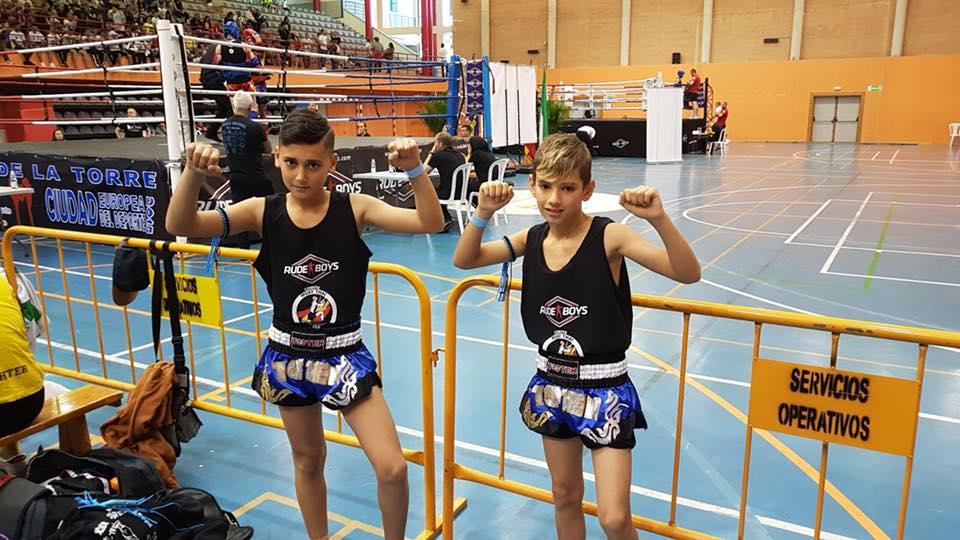 Daniel Rodríguez y Miguel Pérez al Campeonato de España de Muay Thai