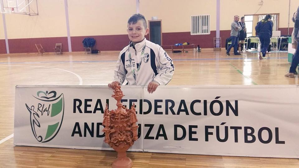 Tomás Méndez convocado de nuevo por la selección andaluza