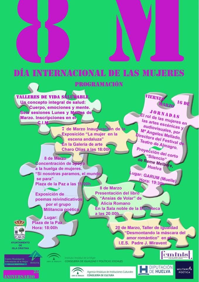 Clausura en Isla Cristina de los Actos del Día Internacional de la Mujer