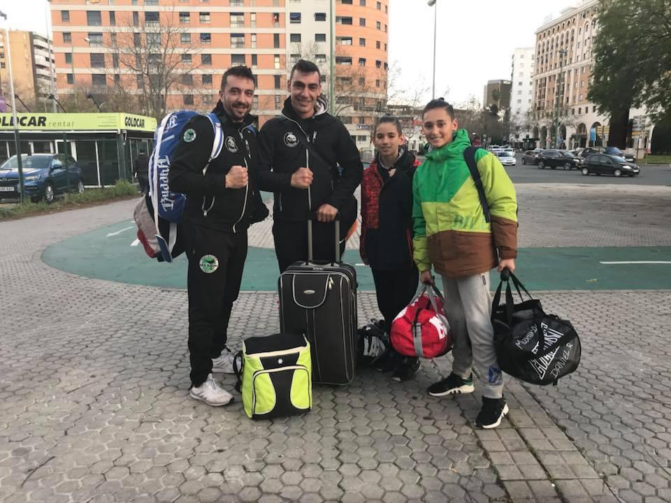 Dos jóvenes luchadores isleños con Andalucía en el Campeonato de España