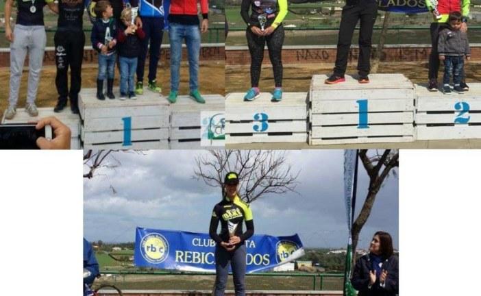 Marta Núñez y Raquel Pérez Campeonas de la V Ruta BTT Pinares de Aljaraque
