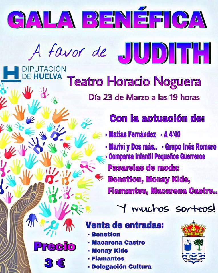 Gala Benéfica en Isla Cristina a favor de Judith
