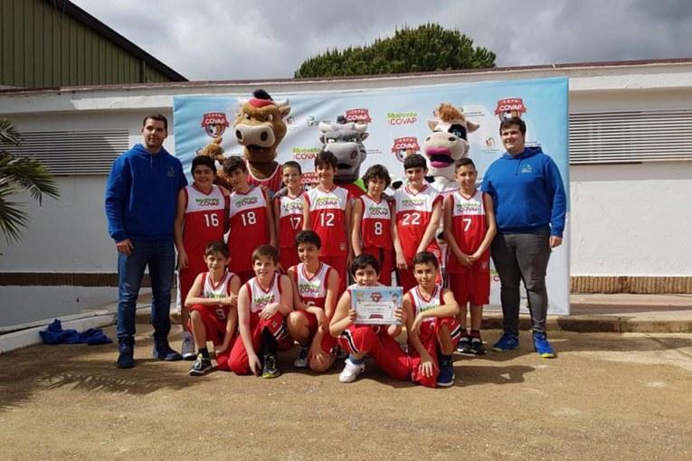 El Mini masculino del CB Isla Cristina participó en la Copa Covap