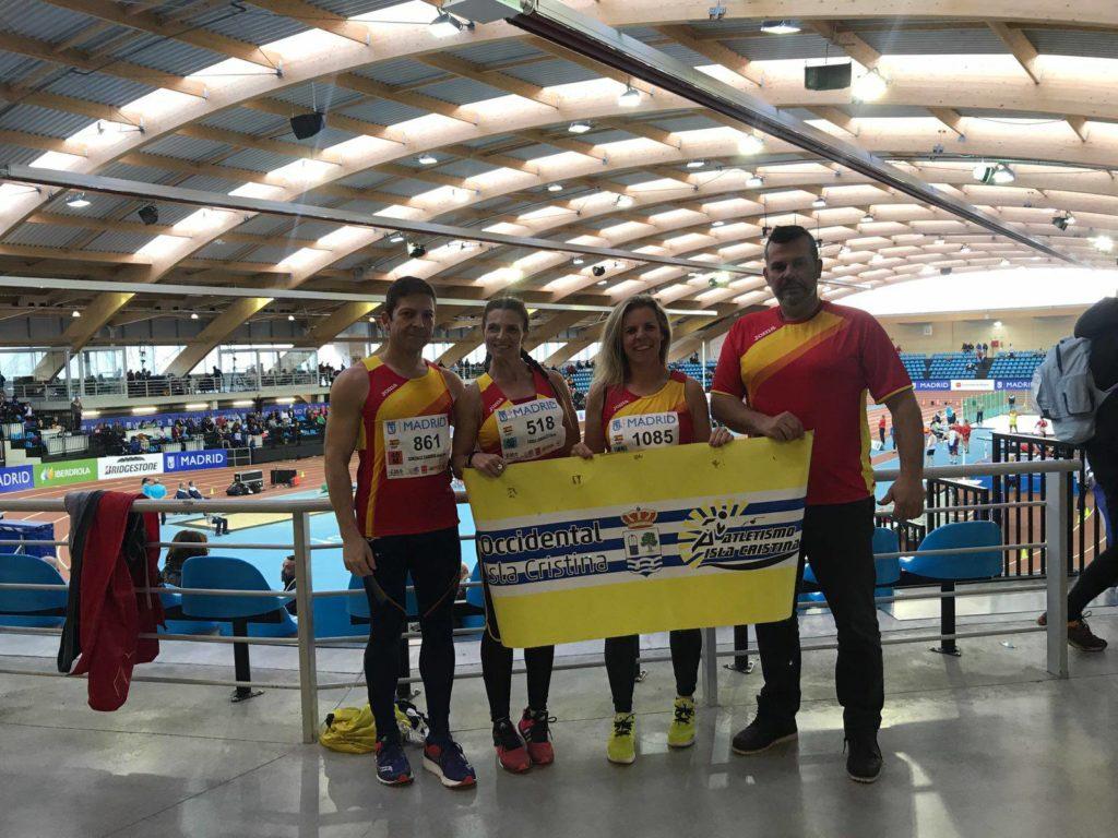 El atletismo de Isla Cristina presente en el Campeonato de Europa Master que se celebra en Madrid