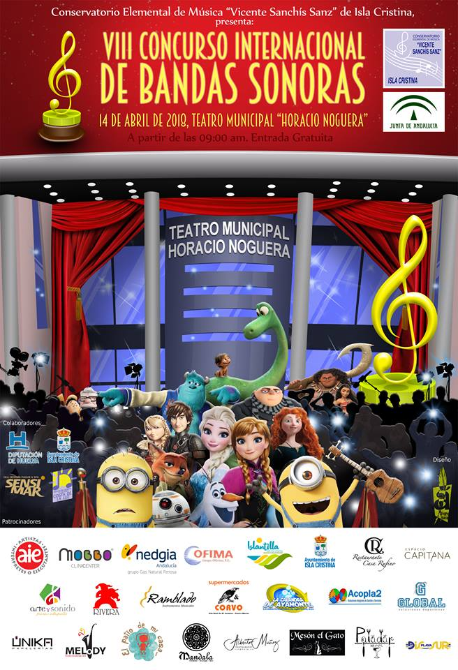"""Isla Cristina acoge el """"VIII Concurso Internacional de Bandas Sonoras"""""""