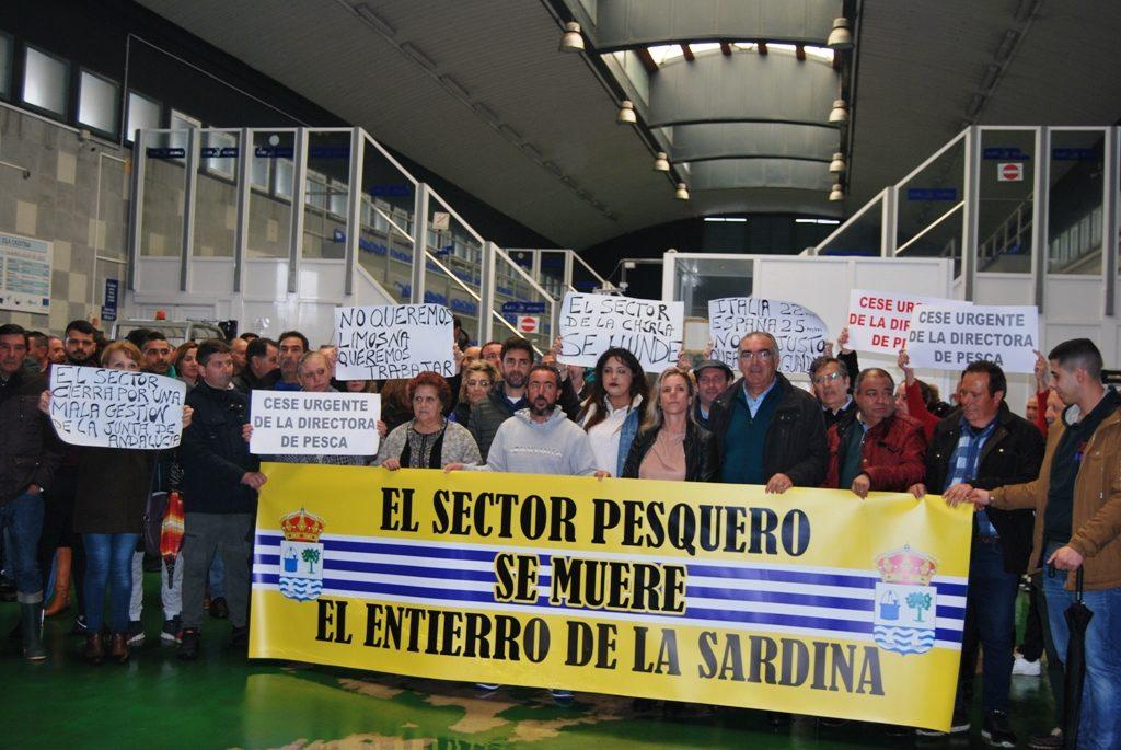 Sector pesquero de Isla Cristina se manifestará el lunes en Sevilla