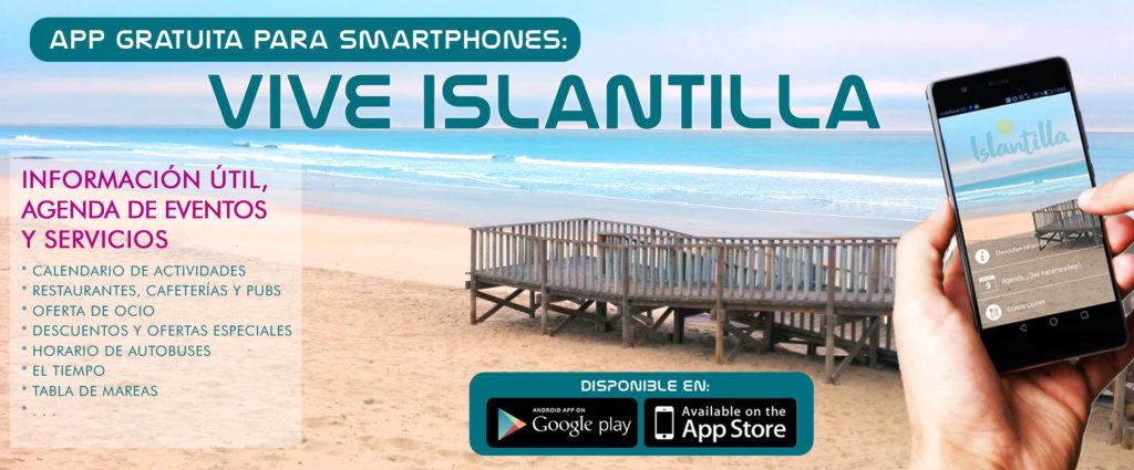 La App Vive Islantilla roza las 150.000 descargas