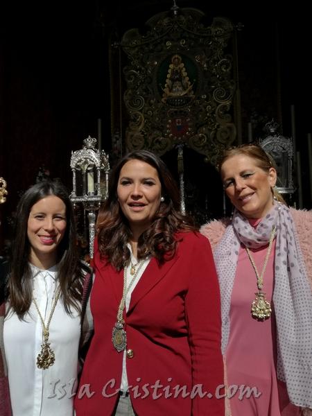 La Hermandad del Rocío de Isla Cristina peregrina con la de Huelva