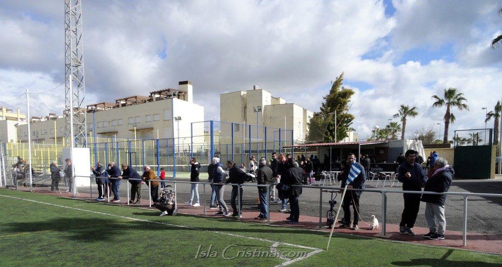Fútbol fin de semana en el Emilio de los Santos de Isla Cristina