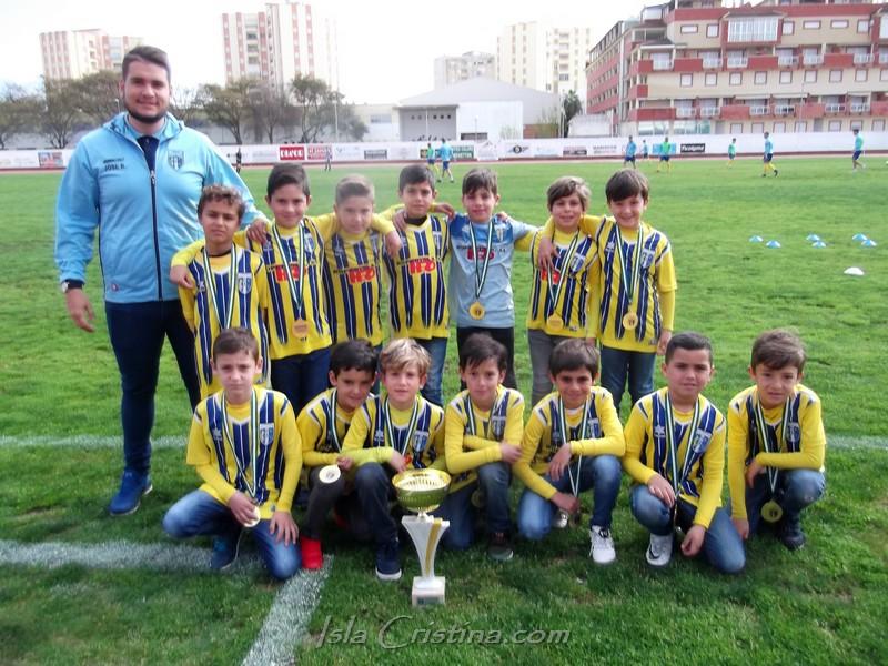 El prebenjamin «A» del Isla Cristina Campeón de la 2ª andaluza de Huelva