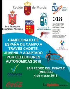 Huelva con representación en el Nacional de Campo a Través Autonómico.
