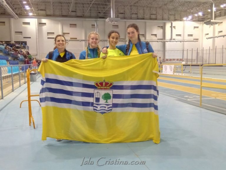 Excelentes resultados del C.A. Isla Cristina en el Campeonato de Andalucía Sub 16