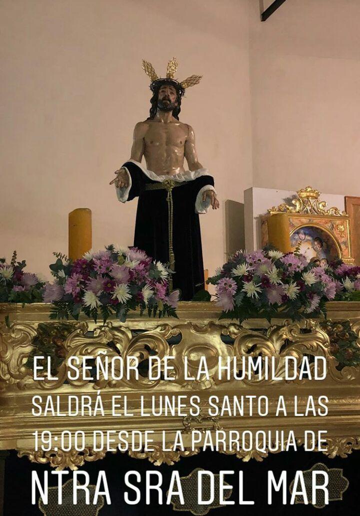 """Lunes Santo """"Señor de la Humildad"""" Semana Santa de Isla Cristina 2018"""