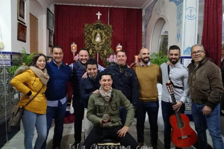 Kalandraque canta la salve rociera en Isla Cristina