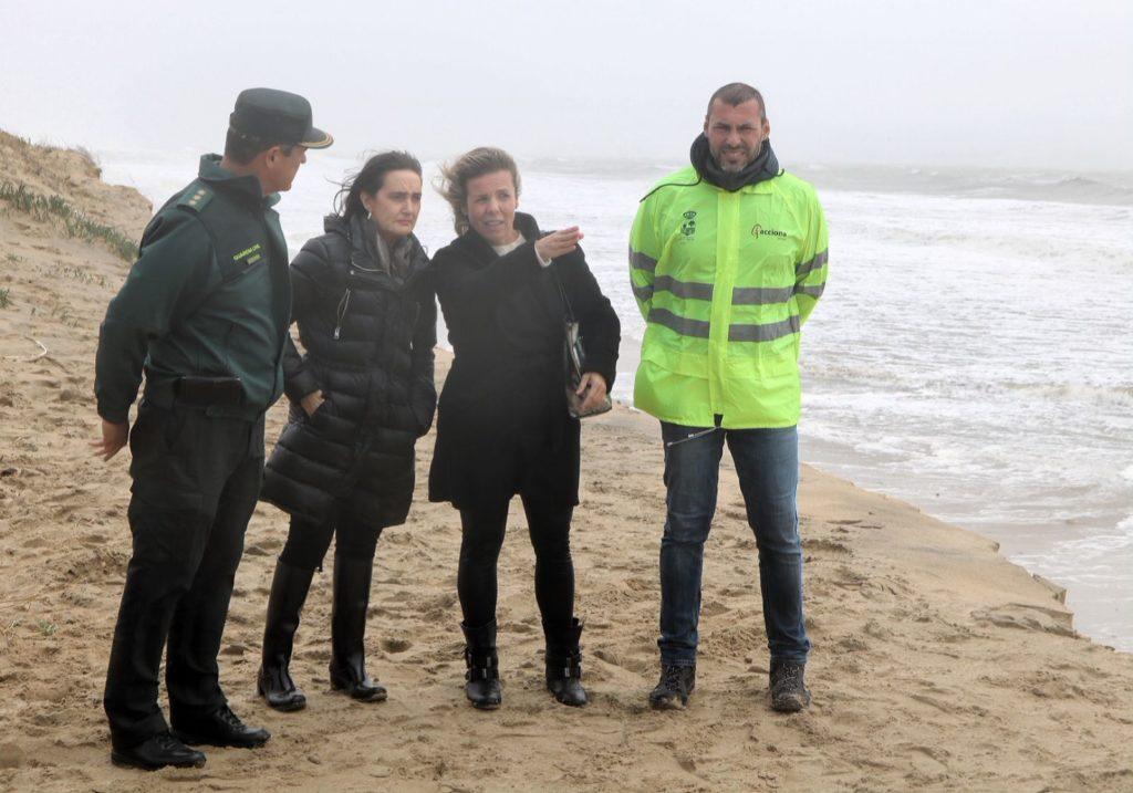 Isla Cristina solicita al Gobierno central ayuda urgente tras los destrozos del temporal