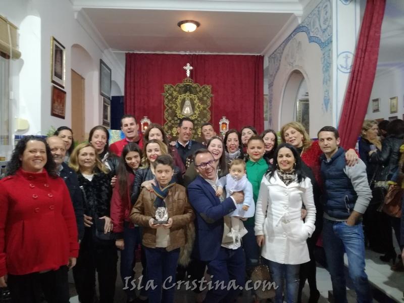 """La casa """"La Picarona"""" cierra la temporada de Salve de la Hermandad del Rocío de Isla Cristina"""