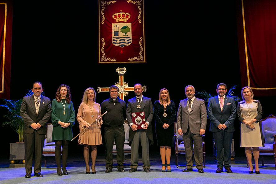 El cofrade isleño Julio Concepción pregonó la Semana Santa de Isla Cristina