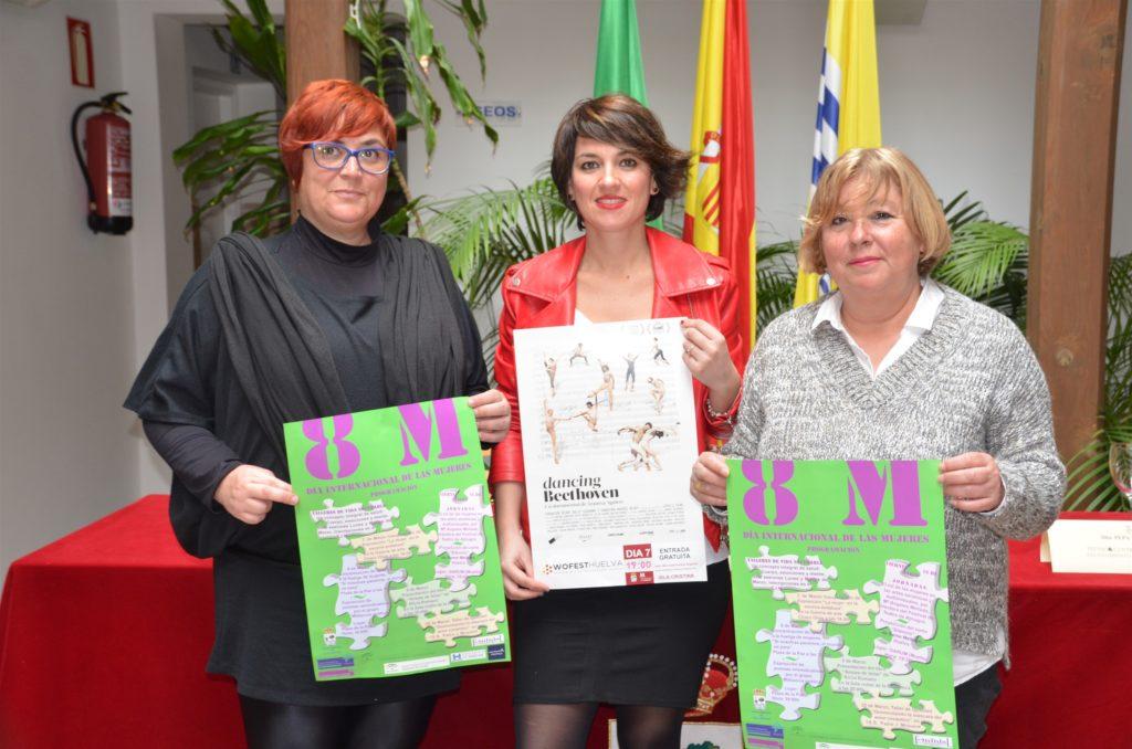 Presentado en Isla Cristina los actos para conmemorar el 8M