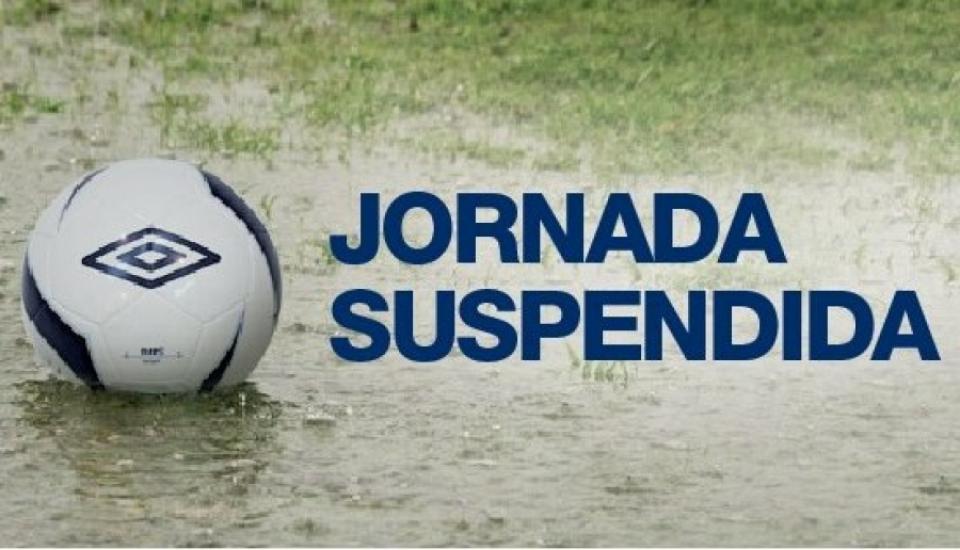 Suspendido el encuentro de fútbol entre el Punta del Caimán, Aroche