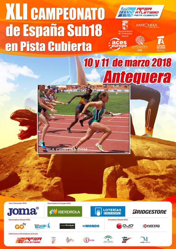 Eva Cárdenas a por el pódium del XLI Campeonato de España sub 18 en pista cubierta