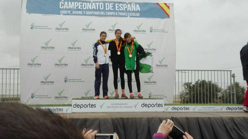 María Forero es bronce en el Nacional de Campo a Través Autonómico