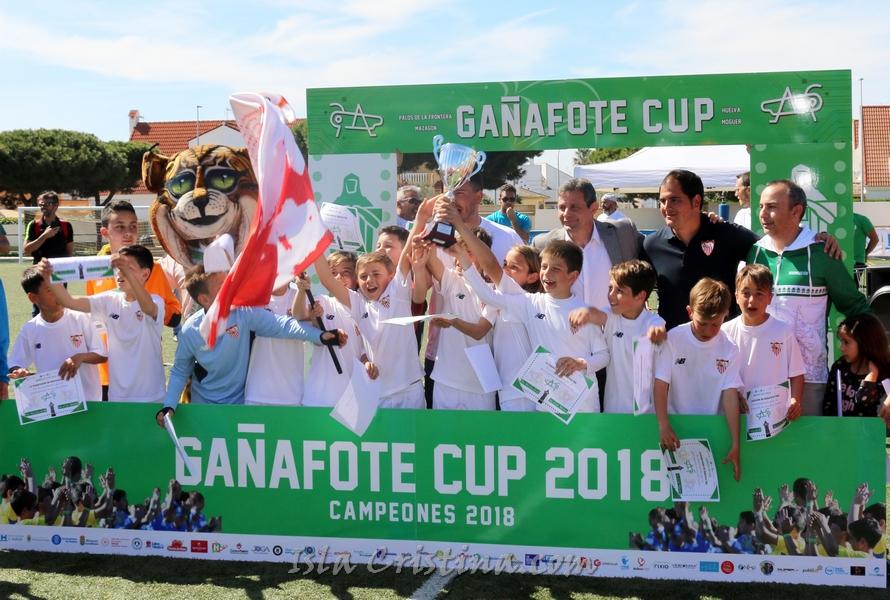 El Sevilla Campeón benjamín de la Gañafote Cup 2018