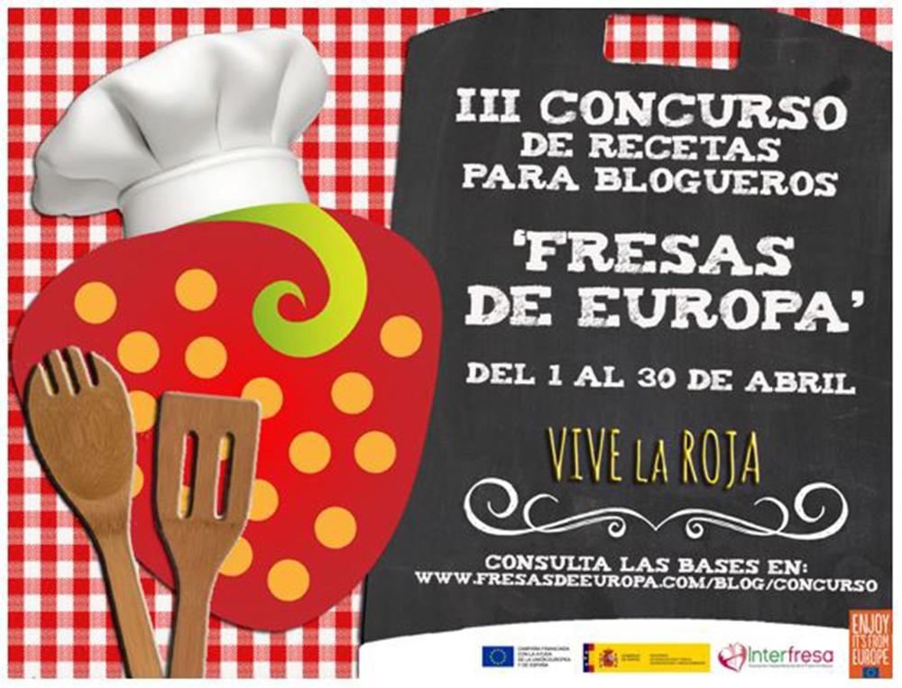 Fresas de Europa busca la mejor receta realizada con fresas