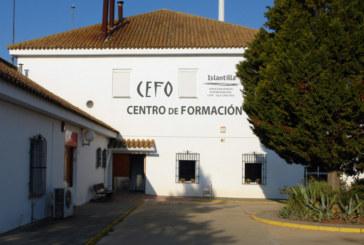 Inauguración del Taller de Empleo Quercus en el CEFO de Islantilla